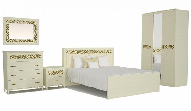 купить недорого спальня ливадия 1 в интернет магазине море мебели в