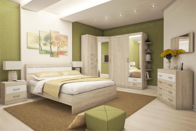 купить спальный гарнитур от фабрики мебели заречье в тюмени недорого